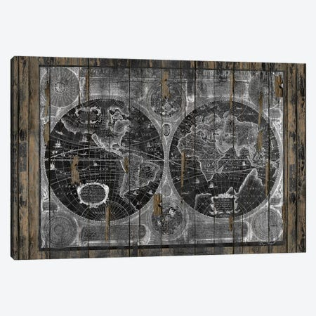 Treasure Map Canvas Print #MXS150} by Diego Tirigall Canvas Art Print