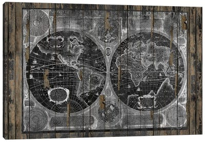 Treasure Map Canvas Art Print