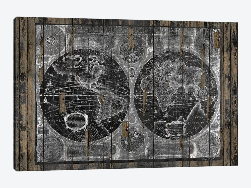 Treasure Map by Diego Tirigall 1-piece Art Print