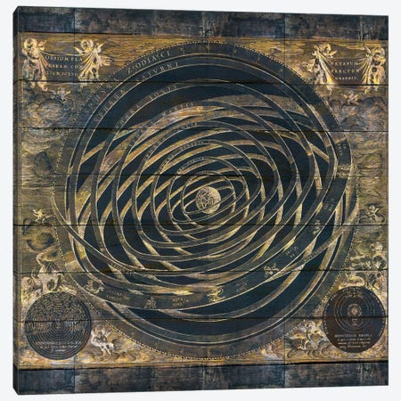 Zodiac Old World Canvas Print #MXS152} by Diego Tirigall Canvas Art Print