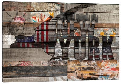 New York Forever Canvas Art Print