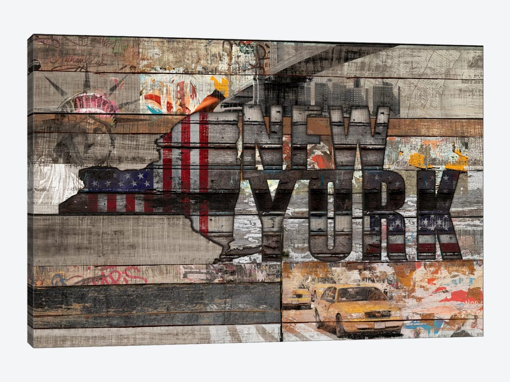 New York Forever by Diego Tirigall 1-piece Canvas Art