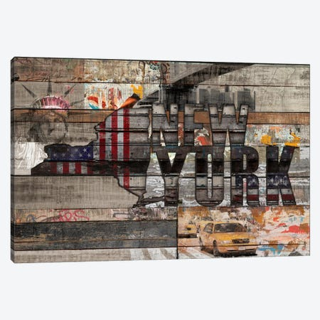 New York Forever Canvas Print #MXS155} by Diego Tirigall Canvas Art