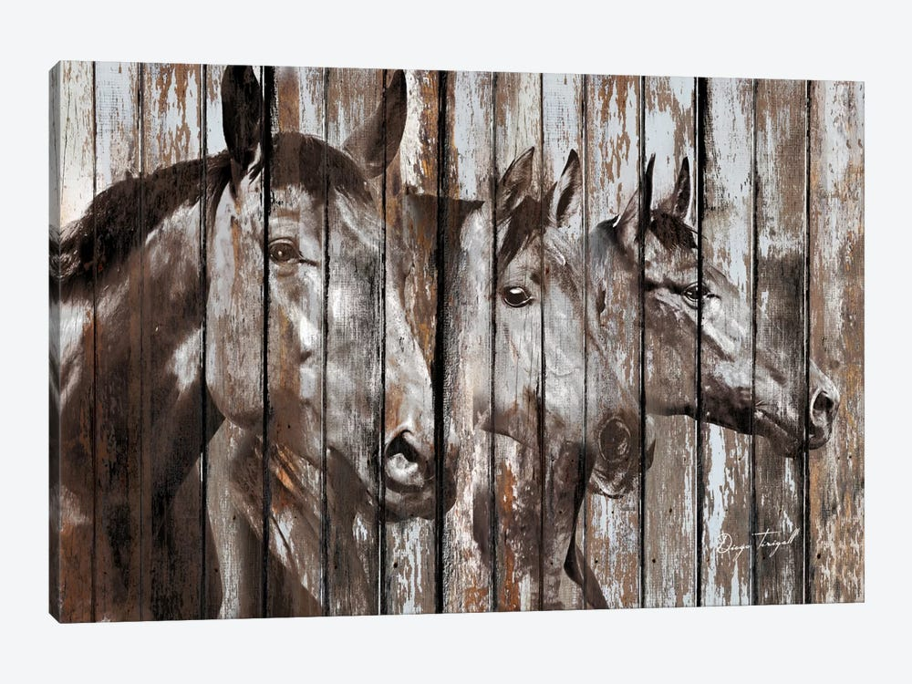Three Horses by Diego Tirigall 1-piece Art Print