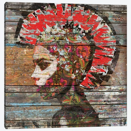 Wild Nature - Profile of Woman Canvas Print #MXS165} by Diego Tirigall Canvas Art Print