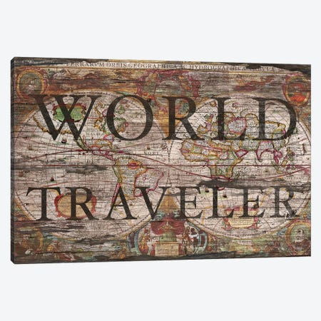 World Traveler Canvas Print #MXS166} by Diego Tirigall Canvas Print