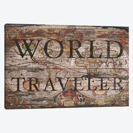 World Traveler Canvas Print #MXS166} by Diego Tirigall Canvas Print