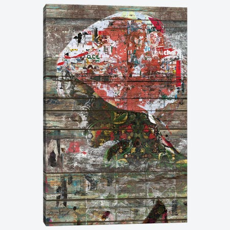 Hidden Nature - Profile Of Woman Canvas Print #MXS168} by Diego Tirigall Canvas Wall Art