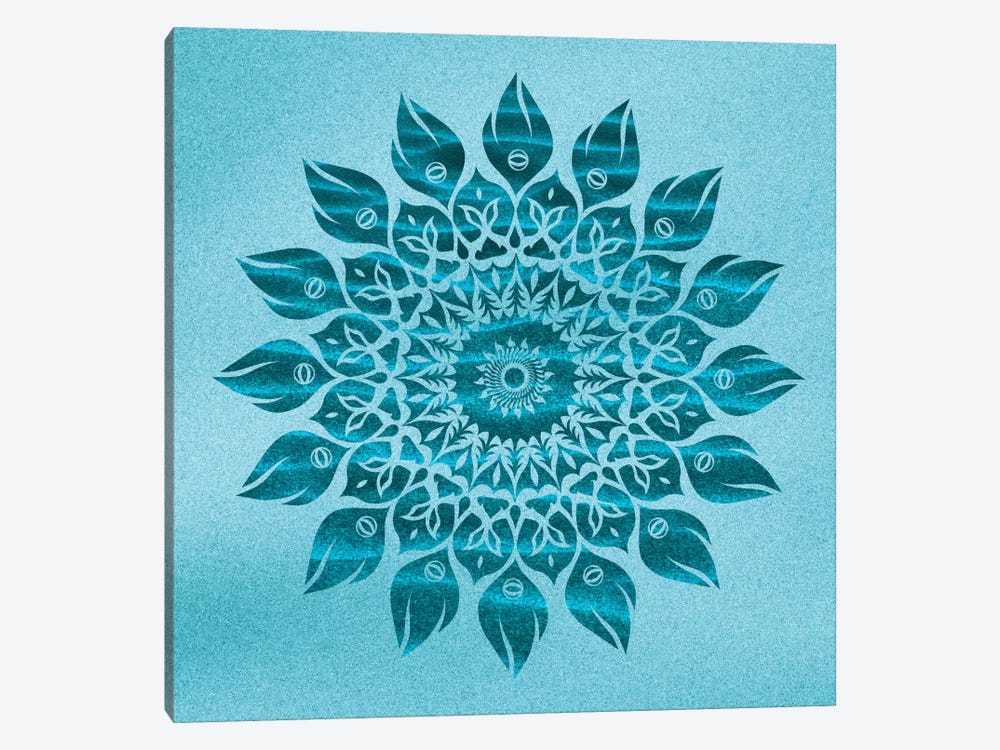 Deep Meditation Mandala by Diego Tirigall 1-piece Canvas Artwork