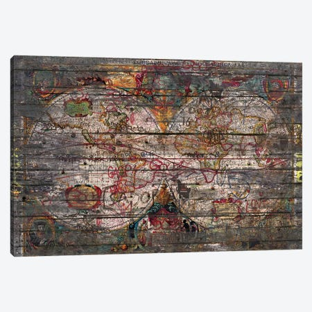 Old Map Canvas Print #MXS171} by Diego Tirigall Canvas Print