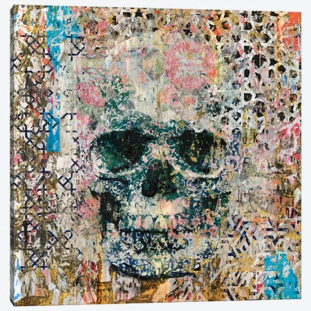 Old Skull Memories Canvas Print #MXS175} by Diego Tirigall Canvas Artwork