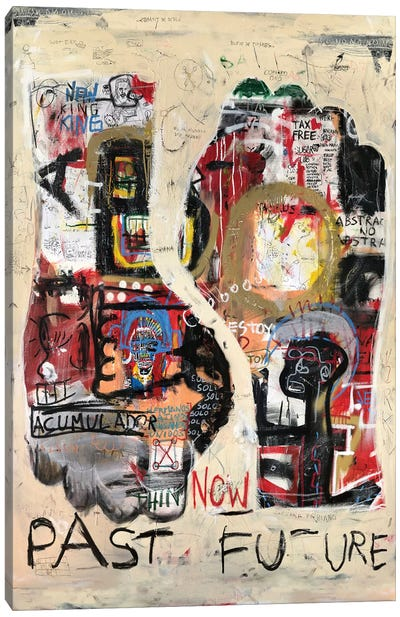 Past Future Canvas Art Print
