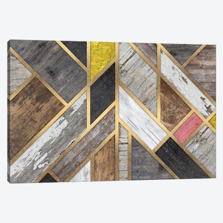Rustic Scandinavian Design Colorful Canvas Print #MXS205} by Diego Tirigall Canvas Artwork