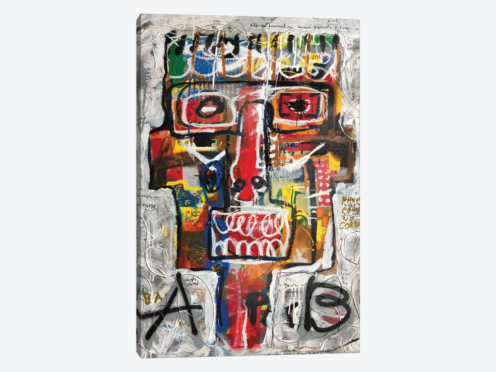A B Test by Diego Tirigall 1-piece Canvas Print