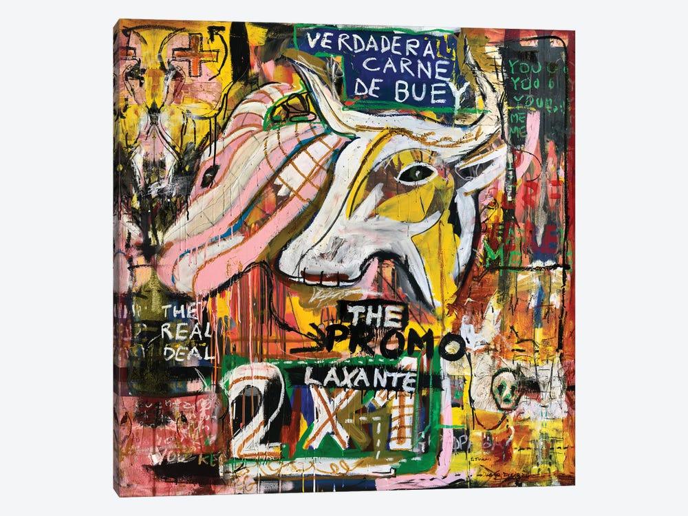 Verdadera Carne de Buey II by Diego Tirigall 1-piece Canvas Artwork