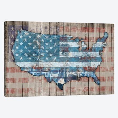 USA Map Sky Canvas Print #MXS229} by Diego Tirigall Art Print