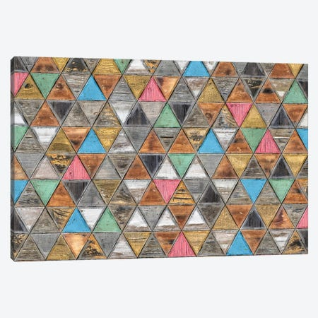 Geometric Rustic And Shabby Chic - Wide Canvas Print #MXS237} by Diego Tirigall Art Print