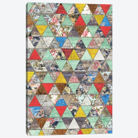 Rustic Geometry I - Height Canvas Print #MXS242} by Diego Tirigall Art Print