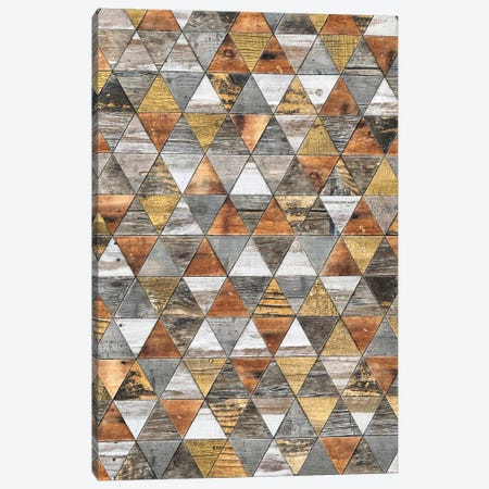 Rustic Geometry III - Height Canvas Print #MXS246} by Diego Tirigall Canvas Wall Art