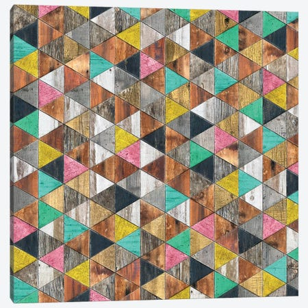 Shabby Chic Nordic - Square Canvas Print #MXS249} by Diego Tirigall Canvas Art Print