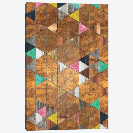 Shabby Chic Nordic Pattern - Height Canvas Print #MXS260} by Diego Tirigall Art Print