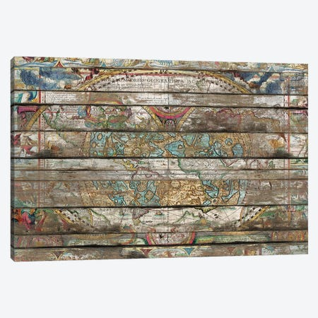 Hidden Worlds (Old Maps) Canvas Print #MXS264} by Diego Tirigall Canvas Wall Art