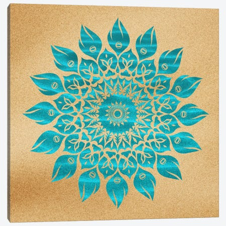 Summer Mandala Canvas Print #MXS26} by Diego Tirigall Canvas Art