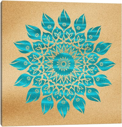 Summer Mandala Canvas Art Print