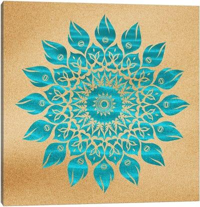 Summer Mandala Canvas Print #MXS26