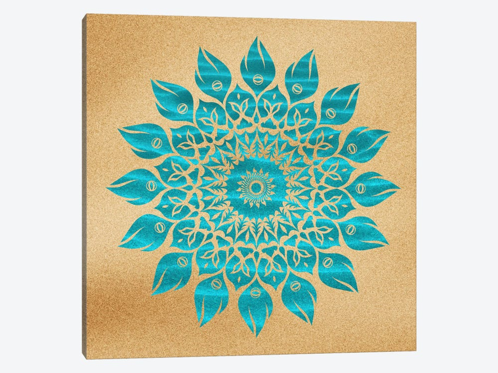 Summer Mandala by Diego Tirigall 1-piece Canvas Print