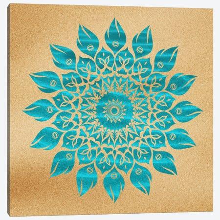 Summer Mandala Canvas Print #MXS26} by Diego Tirigall Canvas Art