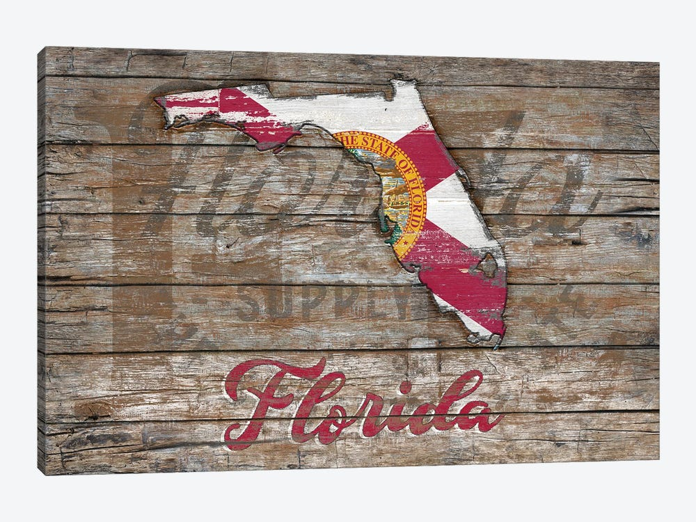 Rustic Morning In Florida State by Diego Tirigall 1-piece Canvas Print