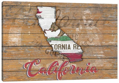 Rustic Morning In California State Canvas Art Print