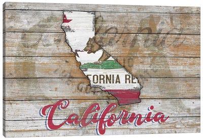 Rustic Morning In California State II Canvas Art Print