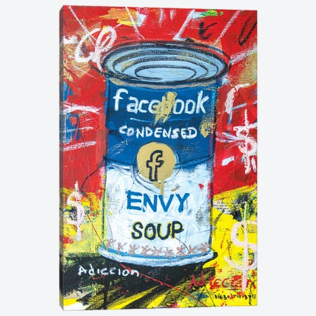 Envy Soup Preserves Canvas Print #MXS280} by Diego Tirigall Canvas Art Print