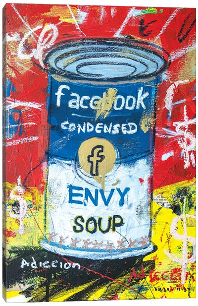 Envy Soup Preserves Canvas Art Print
