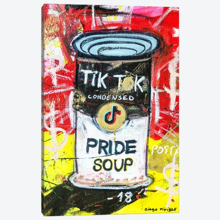 Pride Soup Preserves Canvas Print #MXS284} by Diego Tirigall Canvas Wall Art
