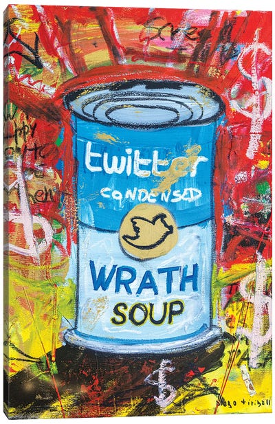 Wrath Soup Preserves Canvas Art Print