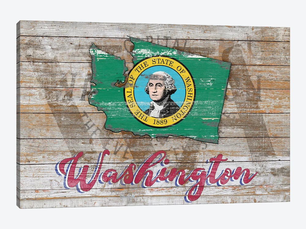 Rustic Morning In Washington State by Diego Tirigall 1-piece Canvas Art Print