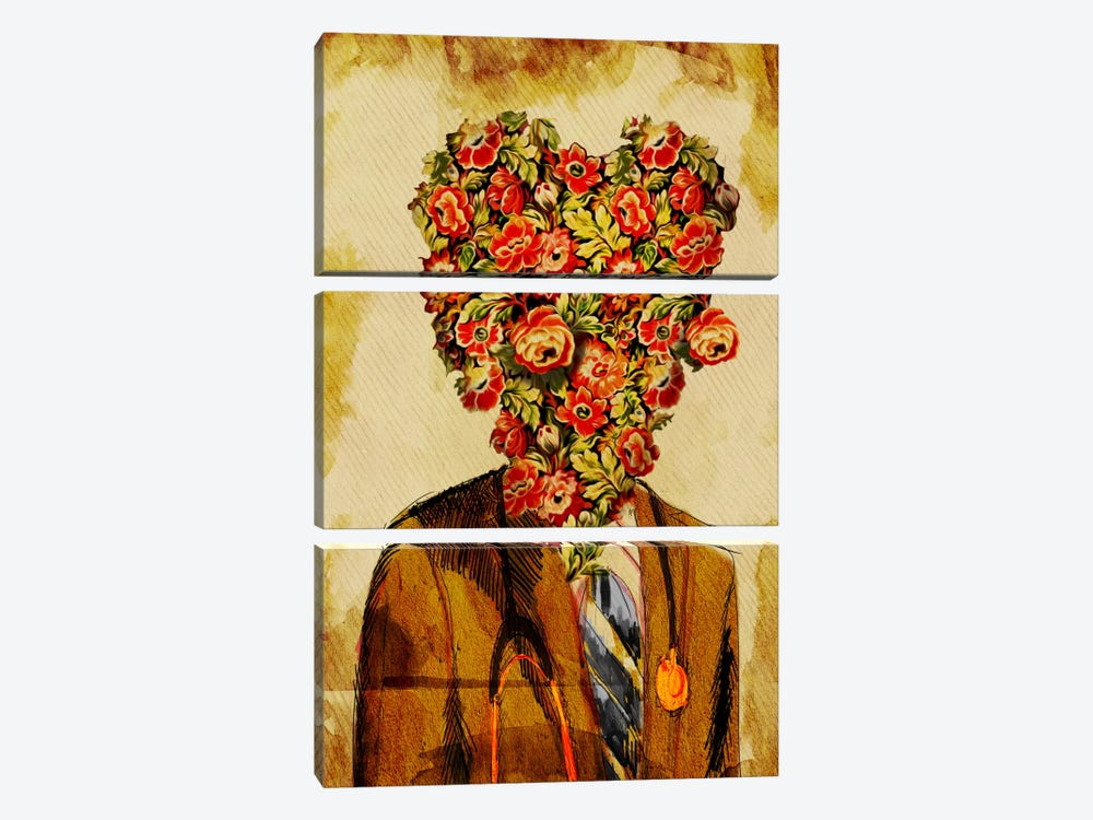 Dr. Amor by Diego Tirigall 3-piece Canvas Print