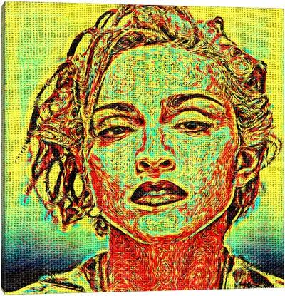 Requiem Madonna Canvas Art Print