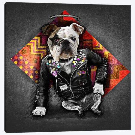 Bad Dog 3-Piece Canvas #MXS40} by Diego Tirigall Canvas Print