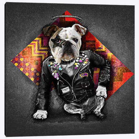 Bad Dog Canvas Print #MXS40} by Diego Tirigall Canvas Print