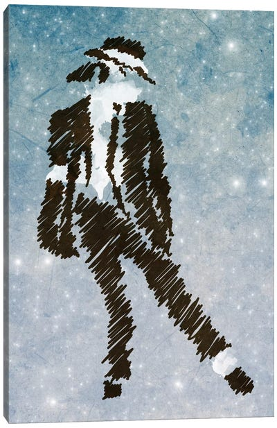 Michael Jackson Forever King of Pop Canvas Art Print