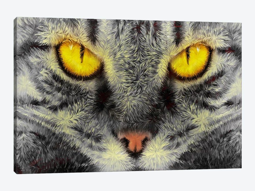 Gato Loco by Diego Tirigall 1-piece Art Print