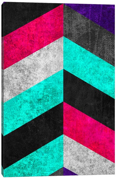 Geometric Mundo C Canvas Art Print