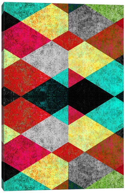 Geometric Mundo D Canvas Art Print