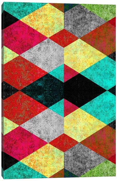 Geometric Mundo D Canvas Art Print