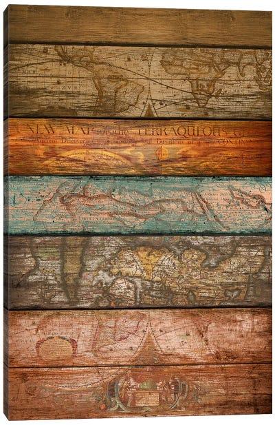 Mapas Canvas Art Print