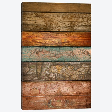 Mapas Canvas Print #MXS63} by Diego Tirigall Canvas Art Print